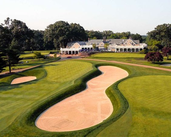 Hackensack Golf Club still maintains some of its Raynor features, but Rees Jones's influence is obvious
