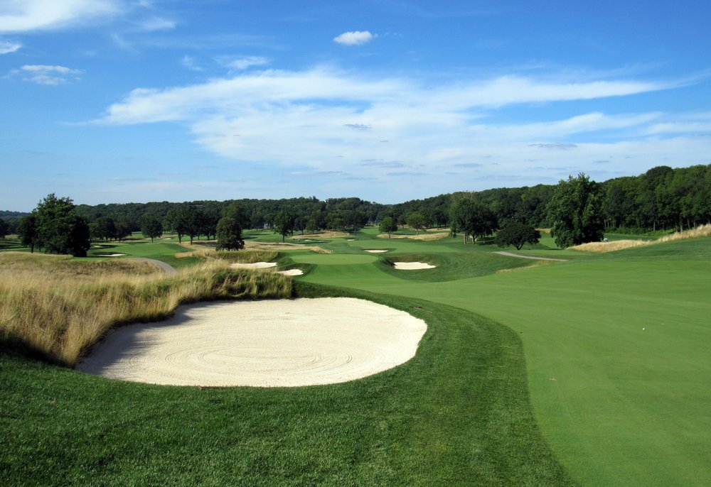 The expansive views and challenge offered at Moraine Country Club, photo courtesy  @the_fried_egg