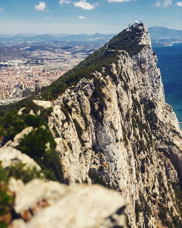 The Rock 🇬🇮 #travelbook #epicview