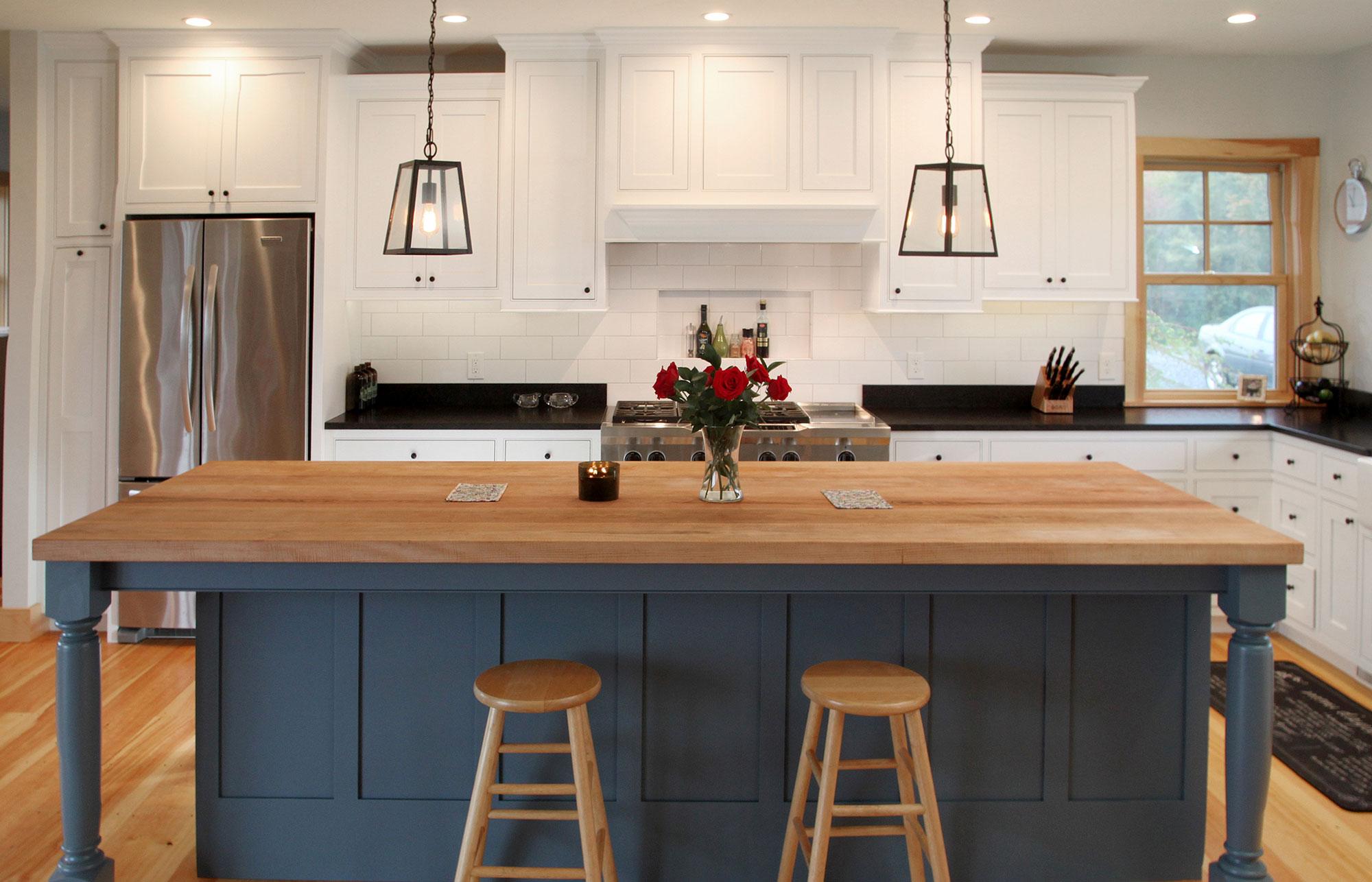 Contemporary White Kitchen - Award Winner - Named