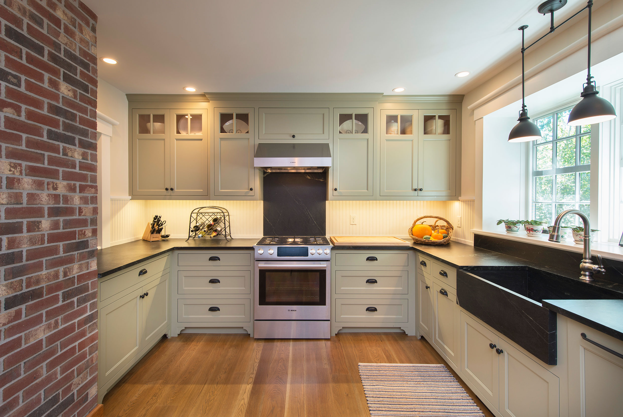 Historic New England Kitchen Simpson Cabinetry