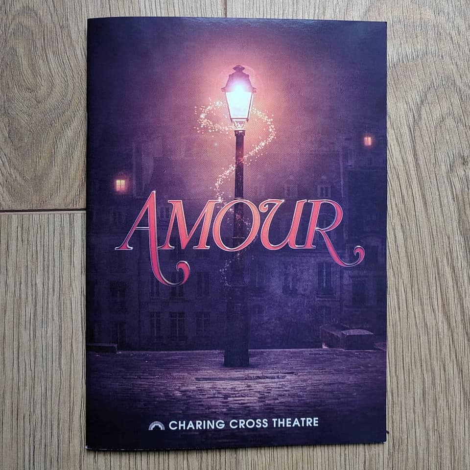 Amour playbill.