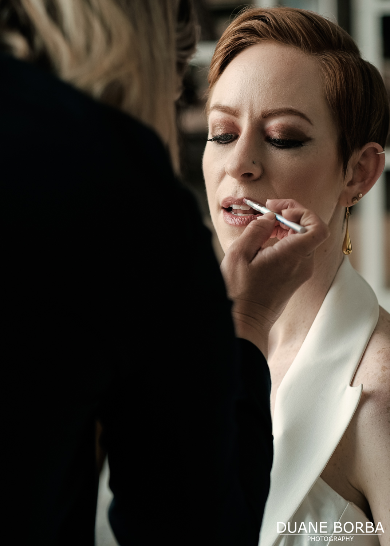 Bride quick retouch