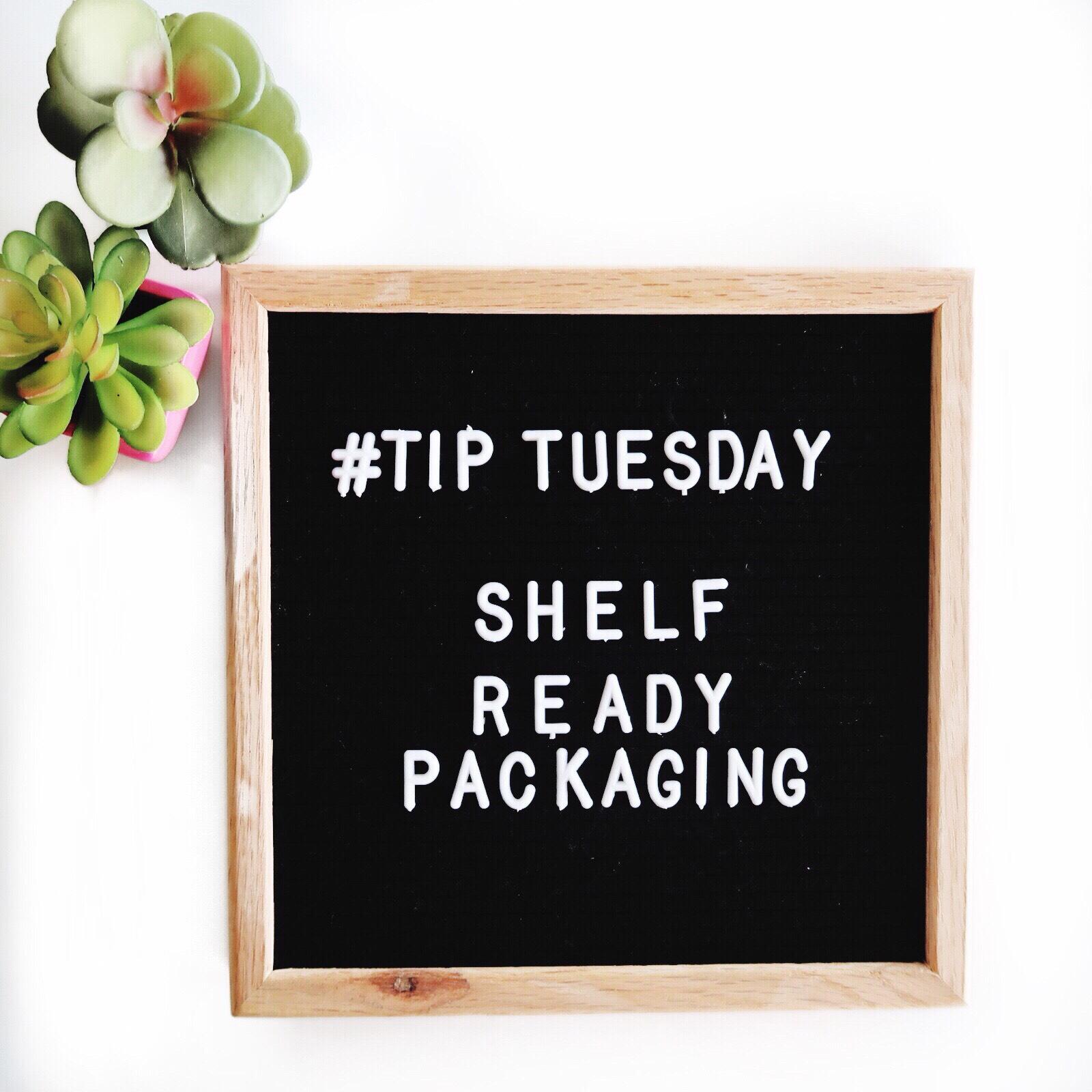 Tip Tuesday Shelf Ready Packaging - Lentz & Company