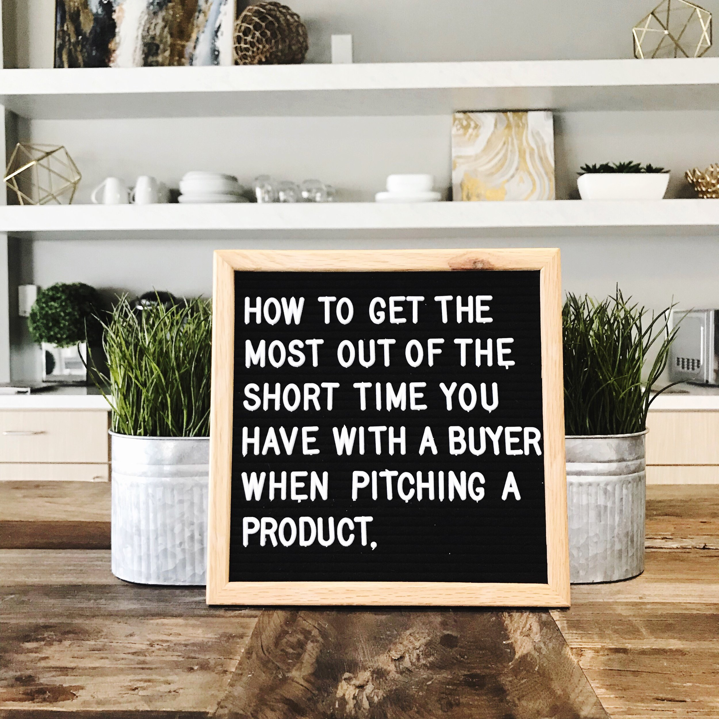 Tip Tuesday - How to get the most out of the short time you have with a buyer when pitching a product - Lentz & Company