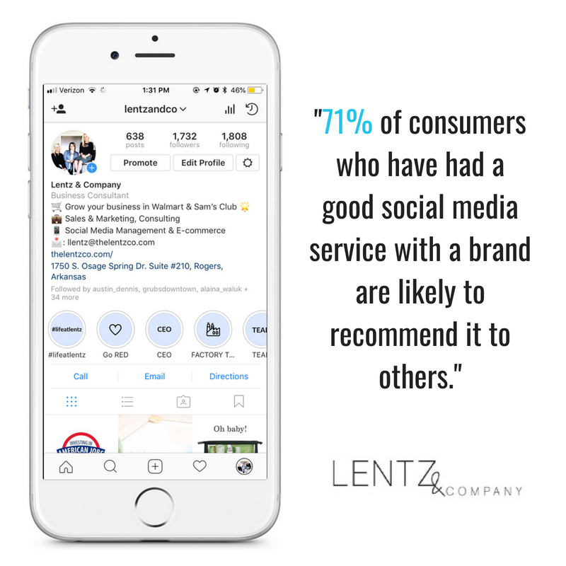 Social Media Management - Lentz & Company