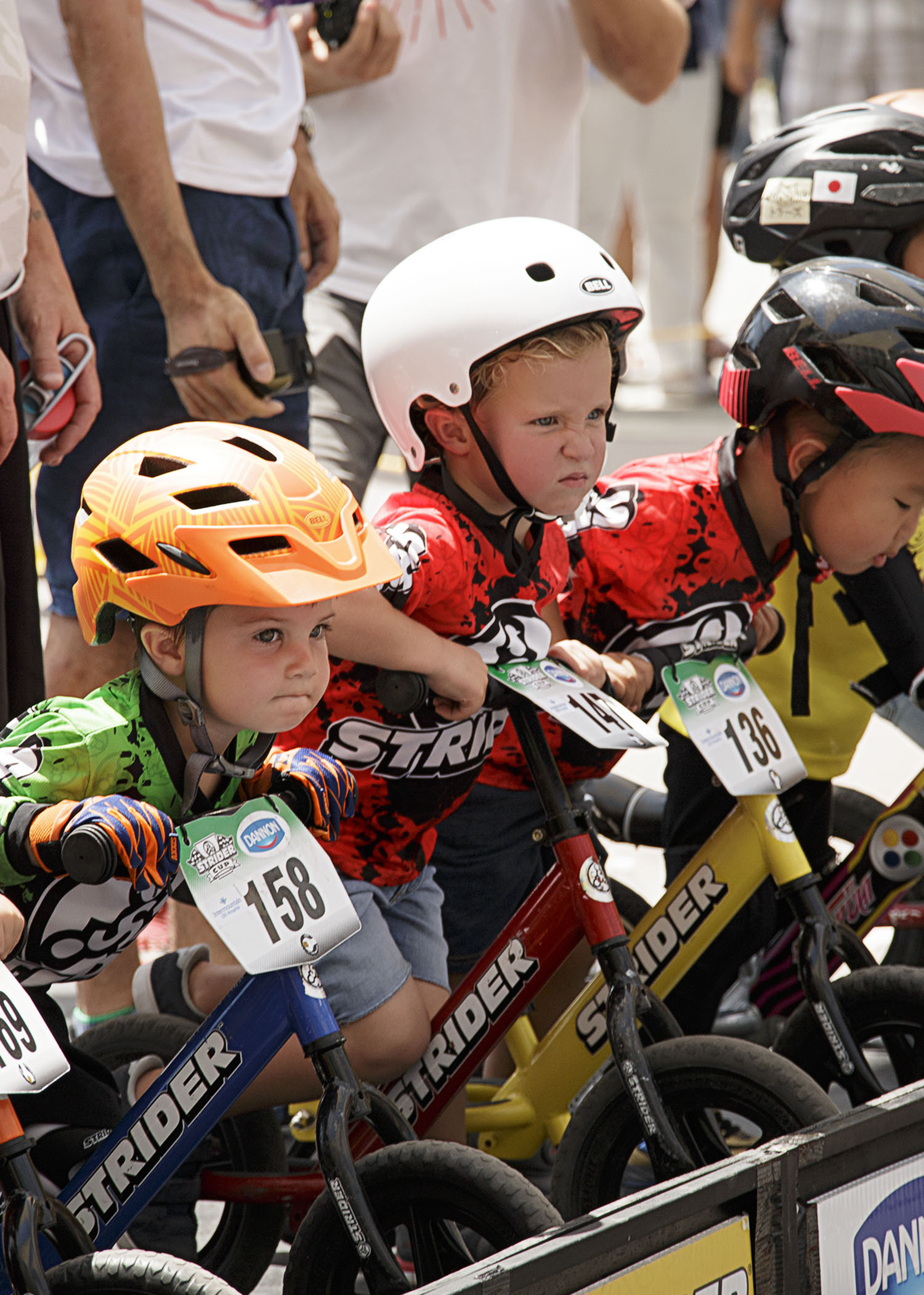 Boston's Strider bike race