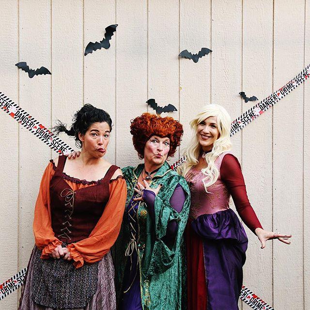 The Sanderson Sisters!