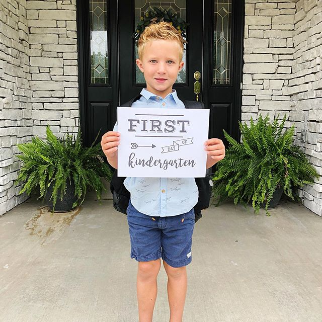 And just like that, I have a kindergartener! 😳