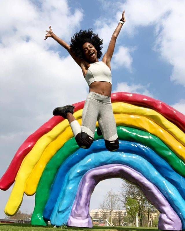Joy is present now 🌈 (and also arthritis - arthritis is also present). Sadness was present yesterday. #human #thisis30 check out my story for a few outtakes 😂