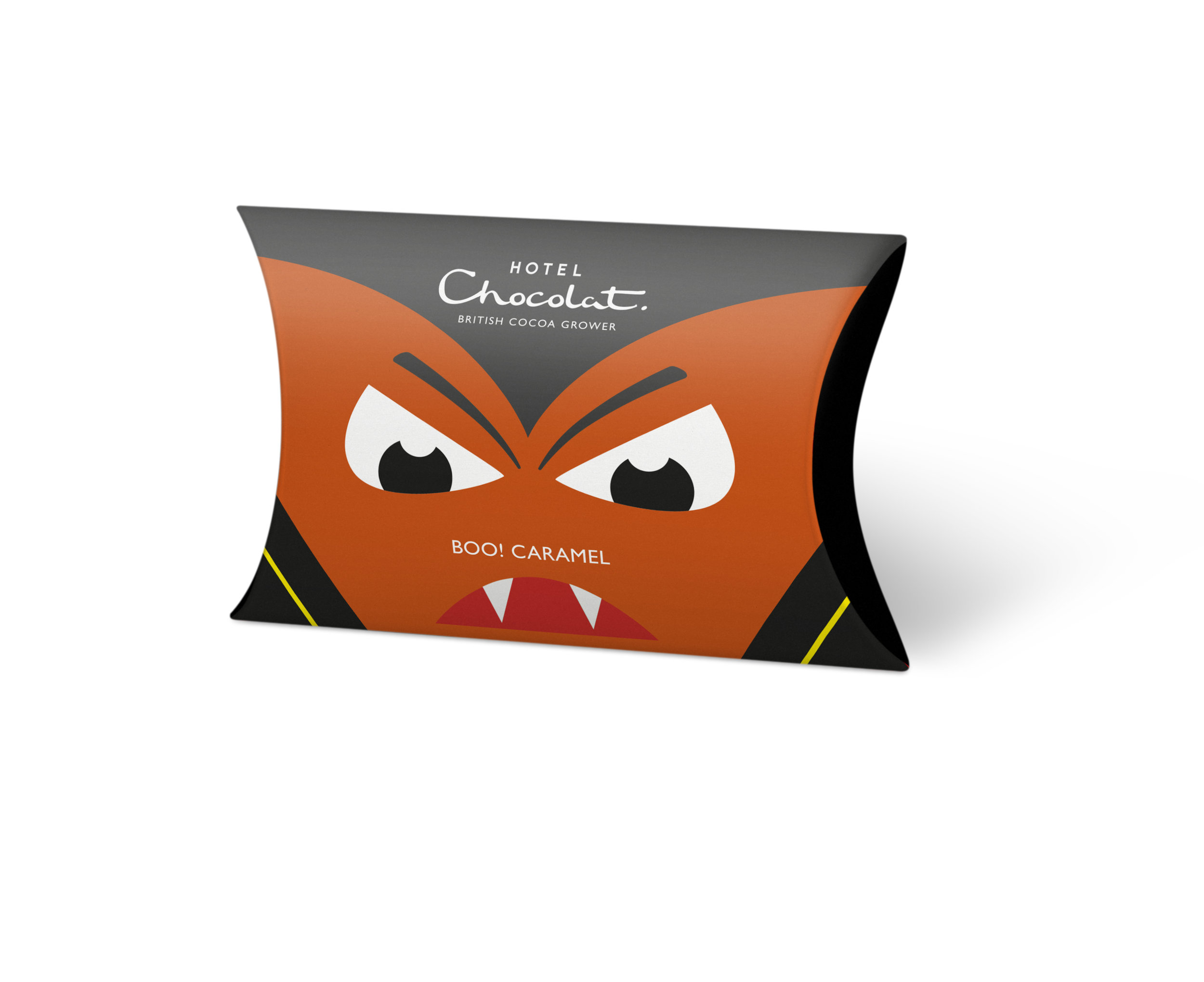 Yikes! Cryptopher the Vampire – Caramel ChocolateSwoop and dive on 40% milk chocolate scary shapes. Halloween vampire chocolate ideas for kids - perfect for a trick or treat. - £2.50