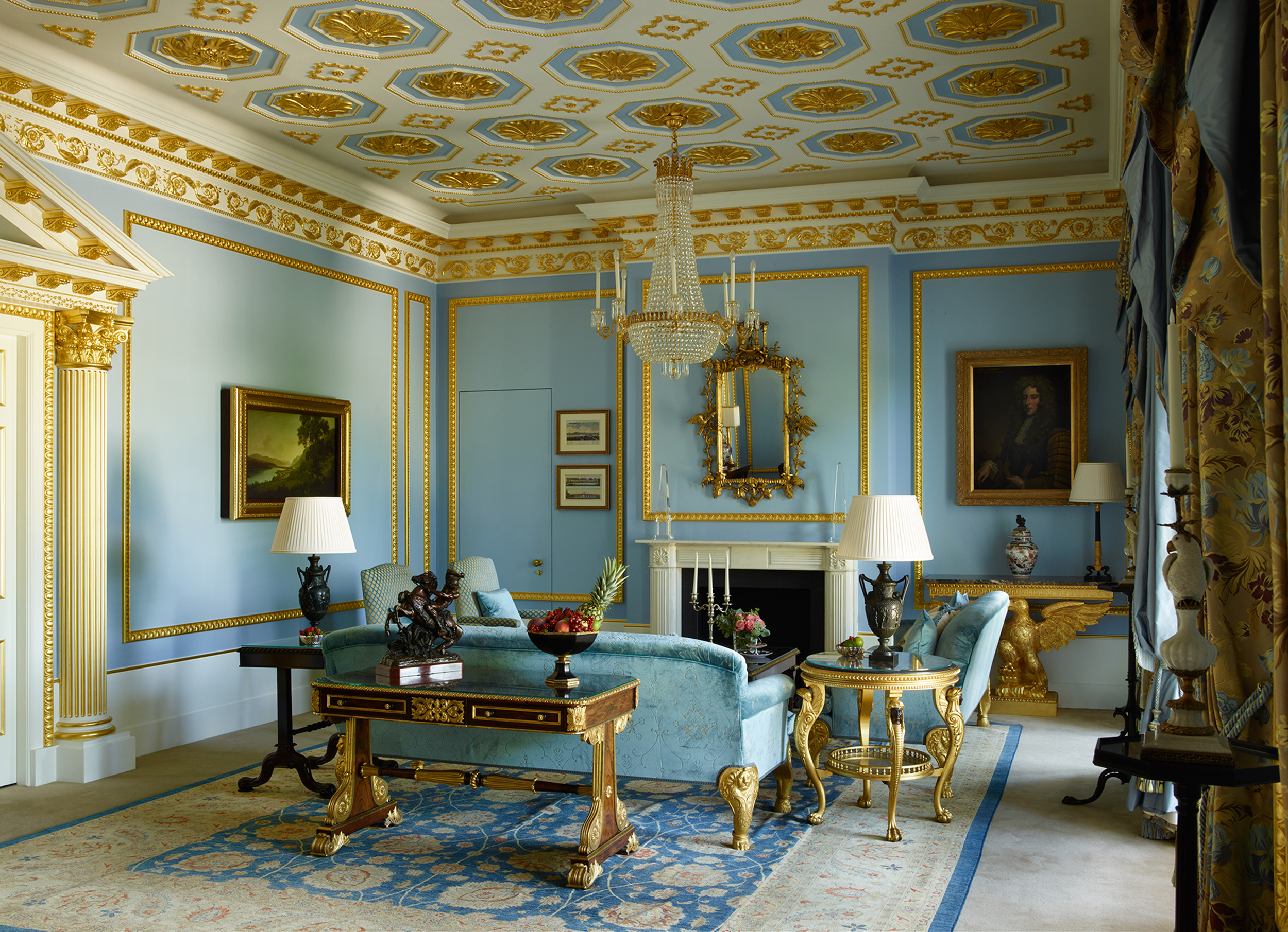 The Royal Suite Living Room