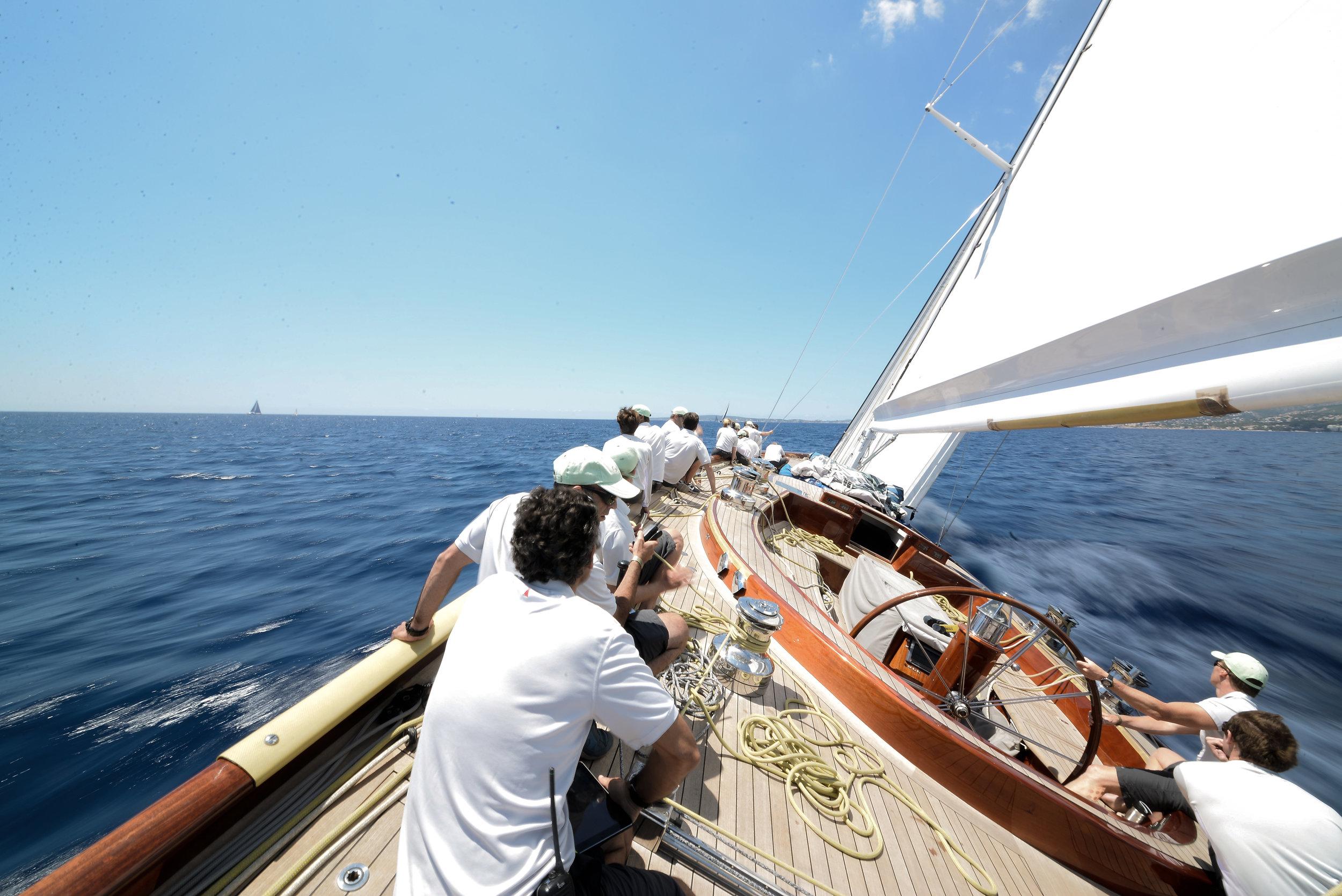 Gaia at Palma Superyacht Cup Credit David Zammit Photography.jpg