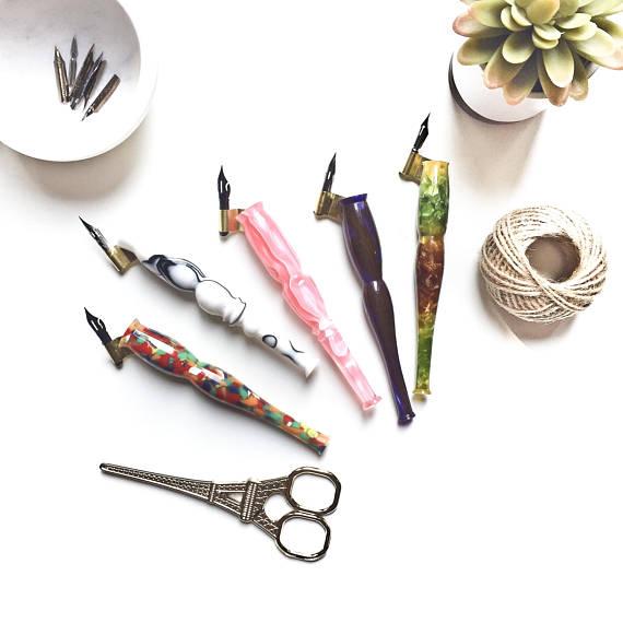 Oblique Pen Holders