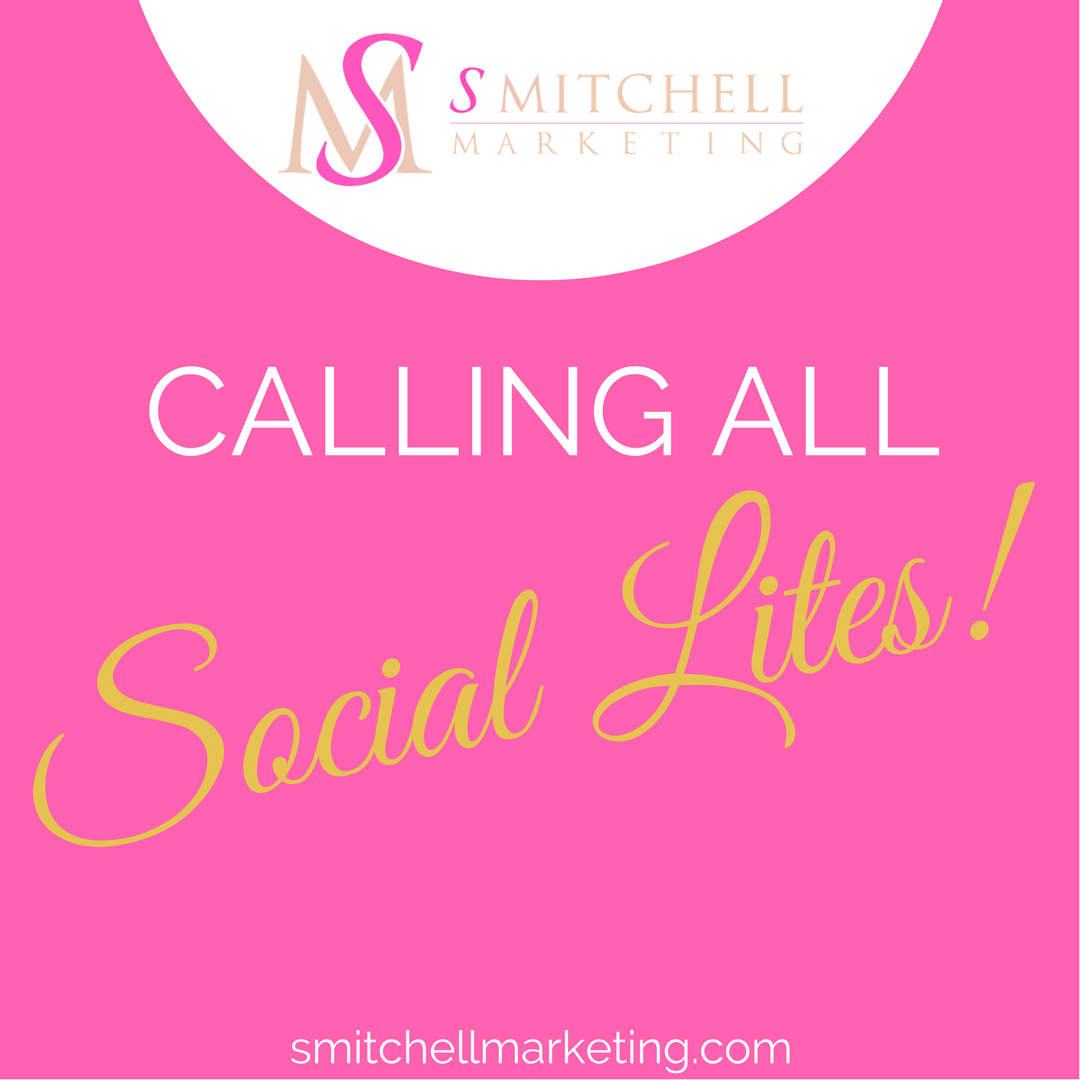 Never miss an update. Get marketing tips sent straight to your inbox when  you sign up for our  Social Lites  eNewsletter!