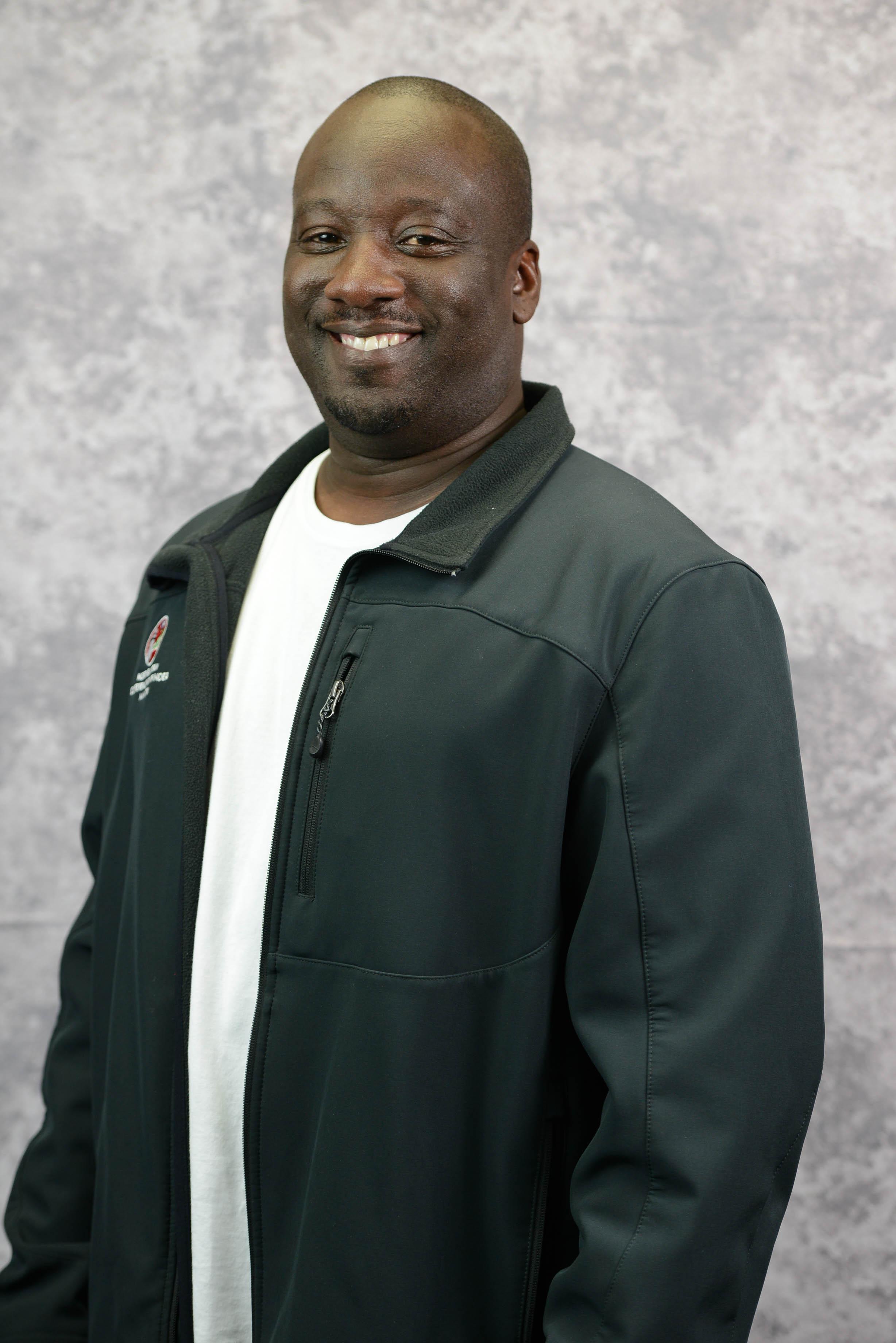 Michael Cuffie, Area Coordinator, Bx-Man.