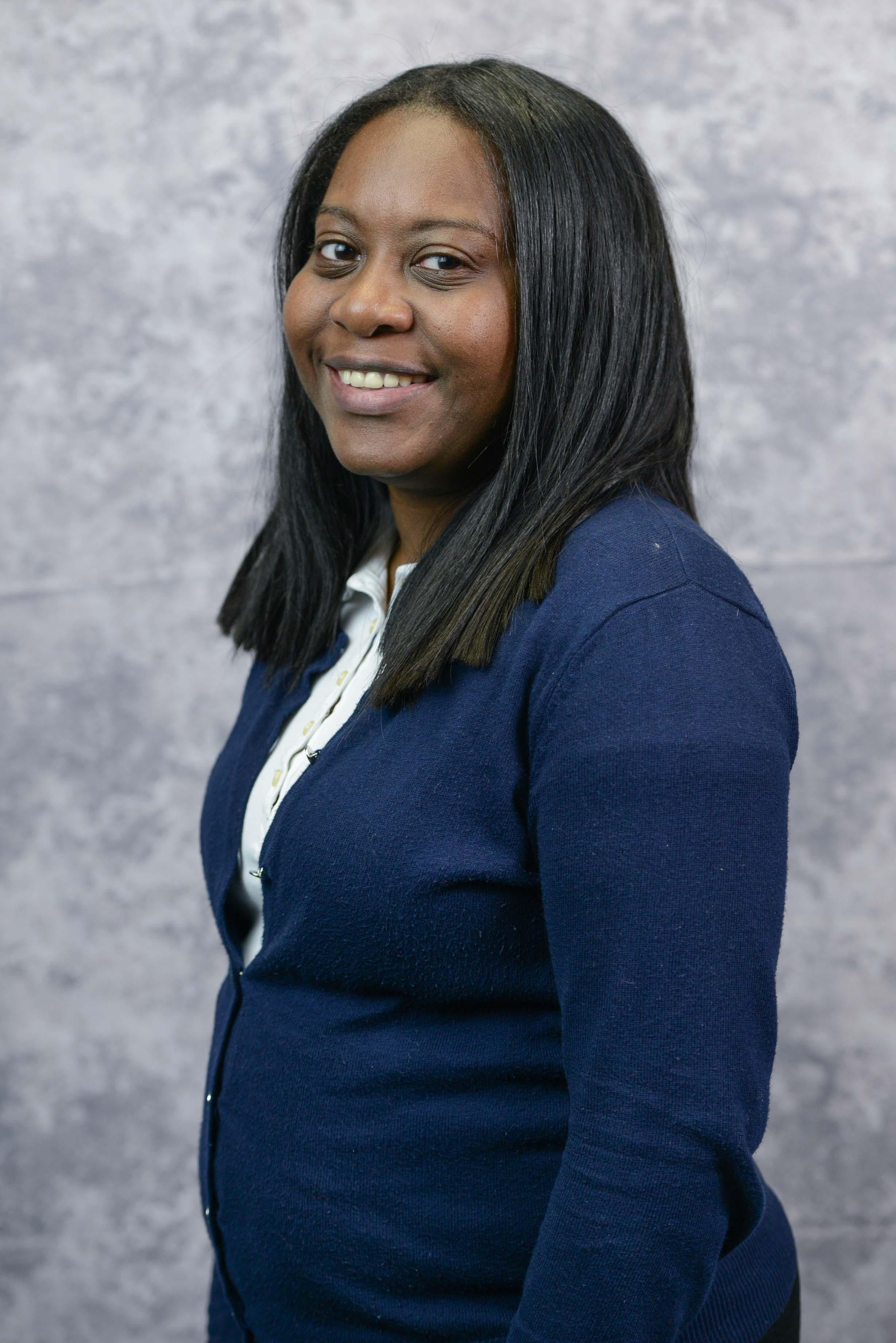 Stephanie Hayward, Asst. Drill Coord. BkN