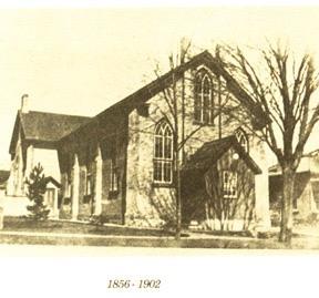 Rattenbury Street Methodist Church 1856 - 1902