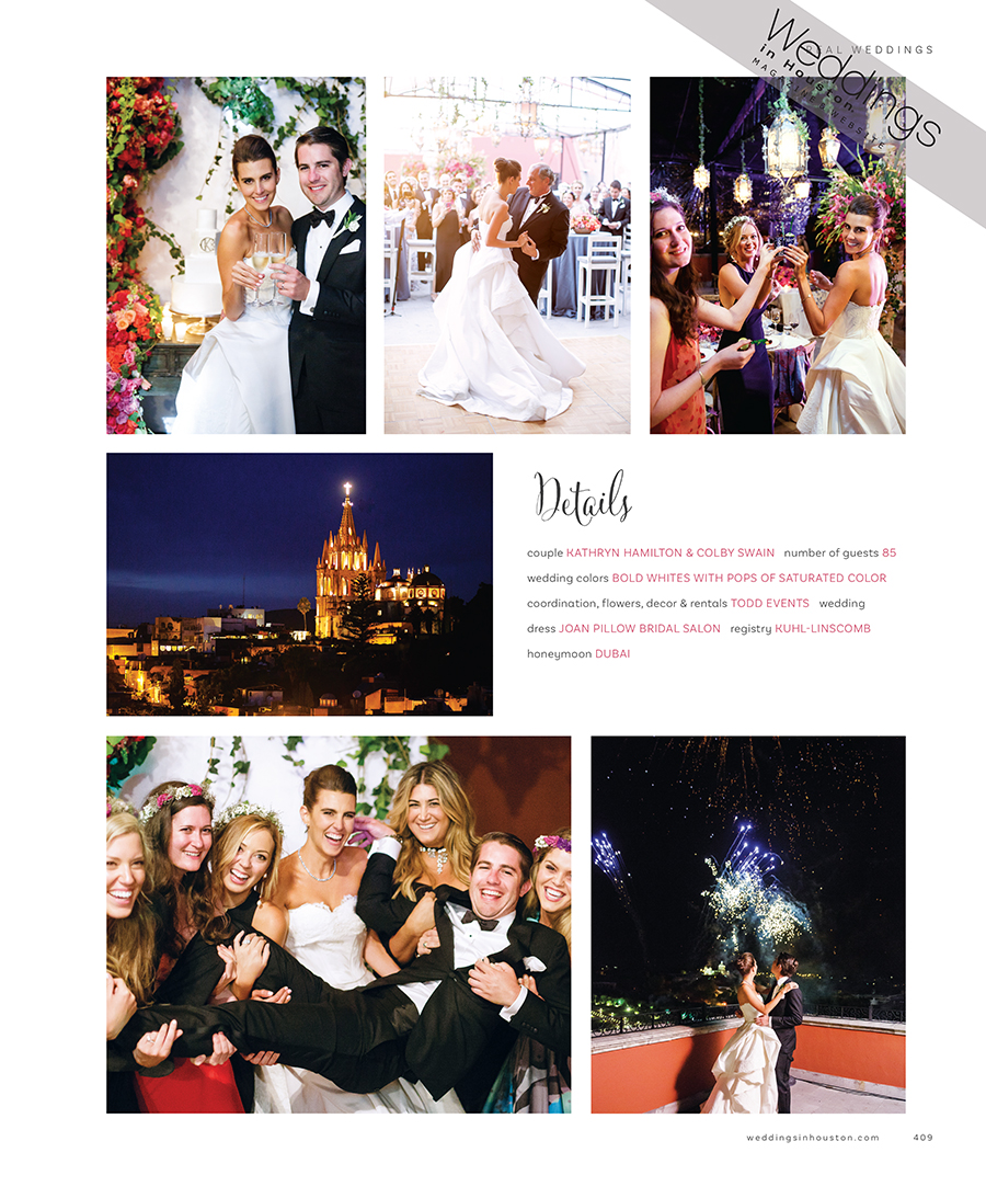 Kathryn Swain San Miguel Wedding