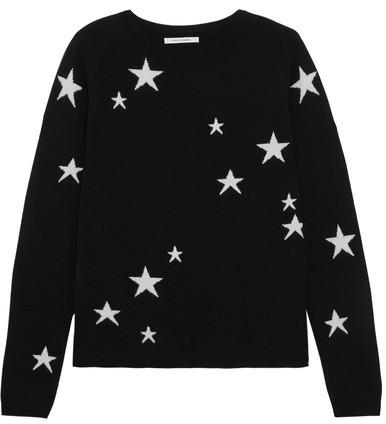 Seeing stars. 100% italian cashmere.