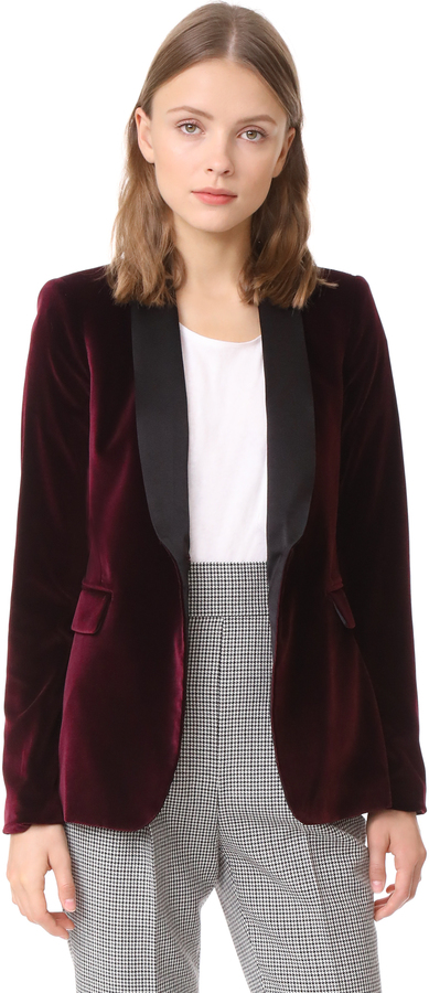 """""""Modern Suiting"""" is very popular right now so this blazer is a great way to play around with the trend without having to take it too far."""