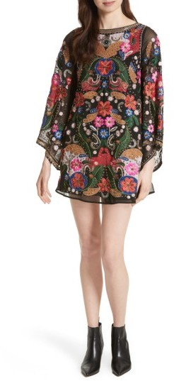 This is the dress I chose for my runway model (see above). Love this with booties or heels.
