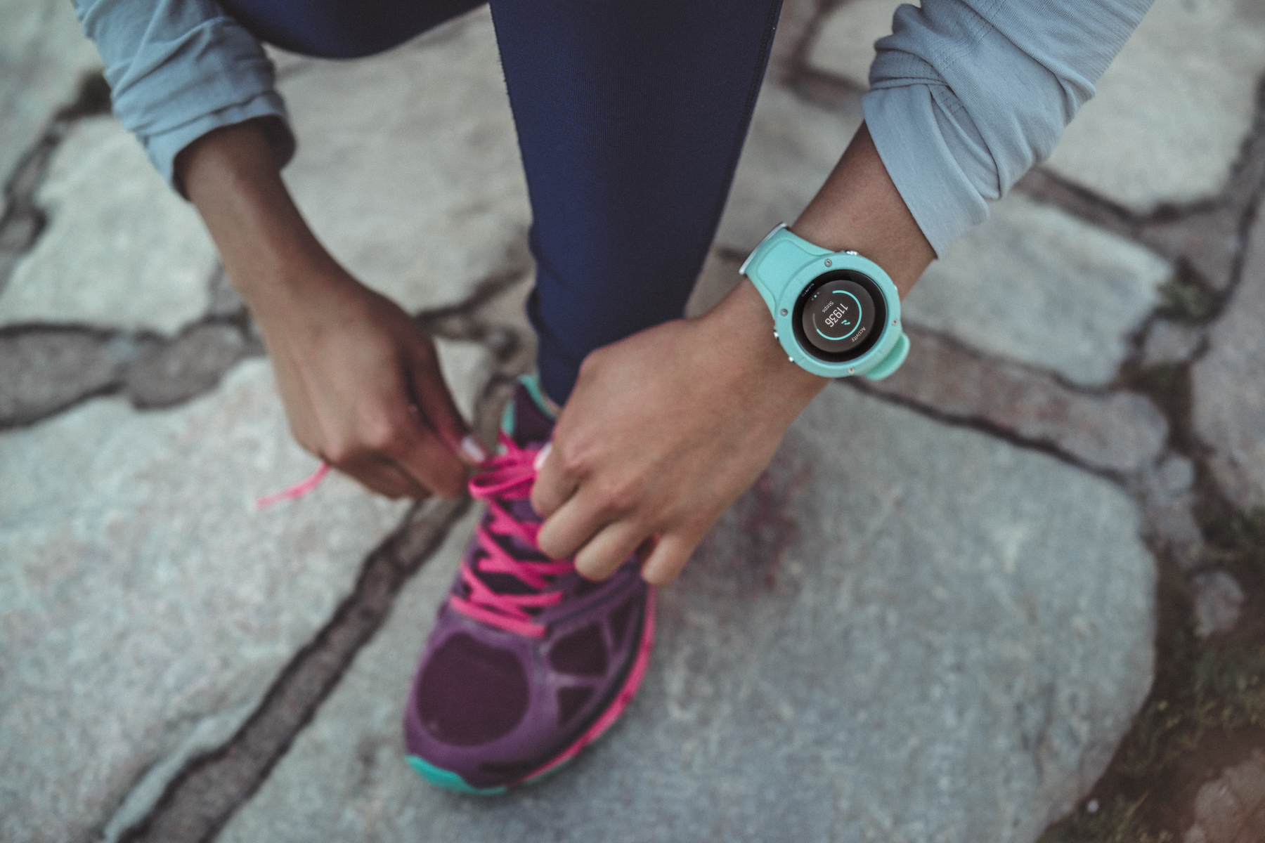 Suunto's new Spartan Trainer Wrist HR is a stylish, comfortable and data-rich training companion. Image: Courtesy Suunto