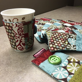Travel Cup Cozy - Quick and Easy project!Environmentally friendly and so cute!