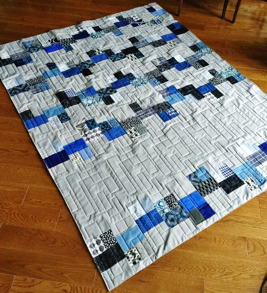 TJ's - Each of my nephews and niece, receive a quilt for their 18th Christmas!!