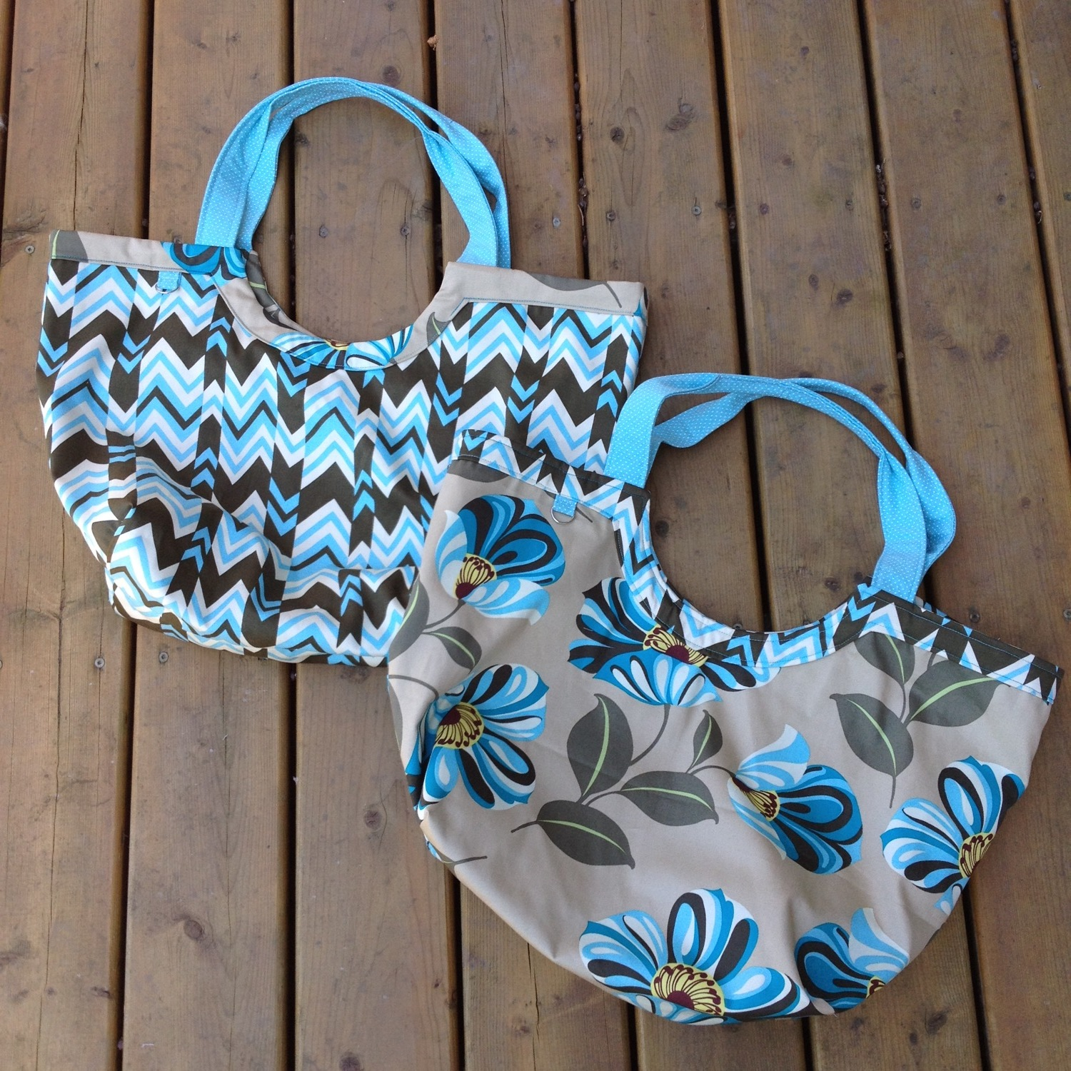 First 2 Poolside Totes