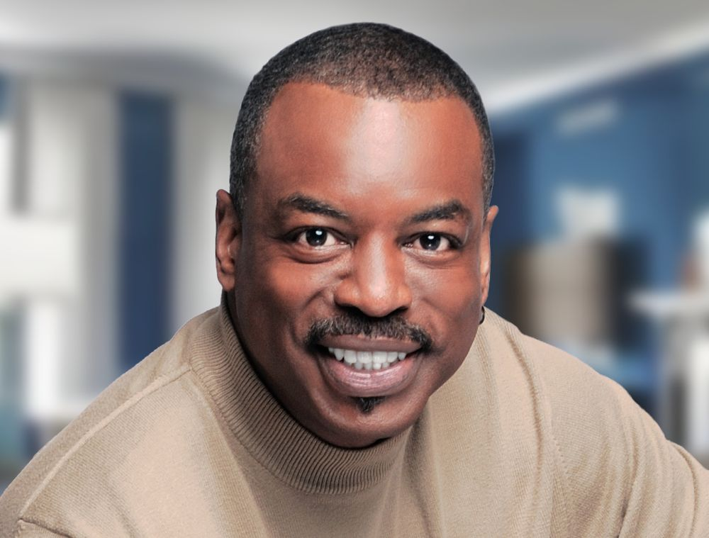 LeVar Burton, courtesy Reading Rainbow