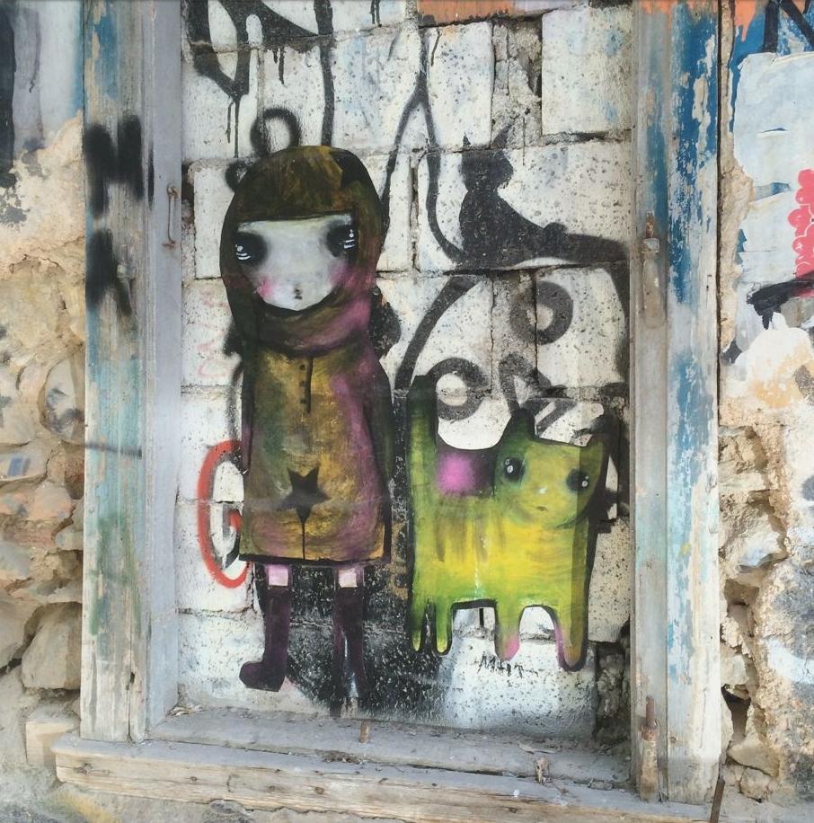 Street art in Athens, Greece, credit Kirsten Akens 2016