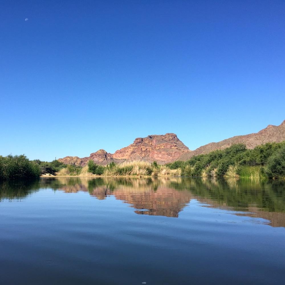 Kayak the Lower Salt River Arizona photo credit Kirsten Akens May 2015