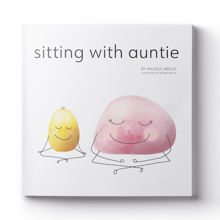 My new picture book,   Sitting with Auntie ,  teaches parents and children how to notice their thoughts and manage stress by using their breath.  Head over to Amazon to  LOOK INSIDE  the Book.