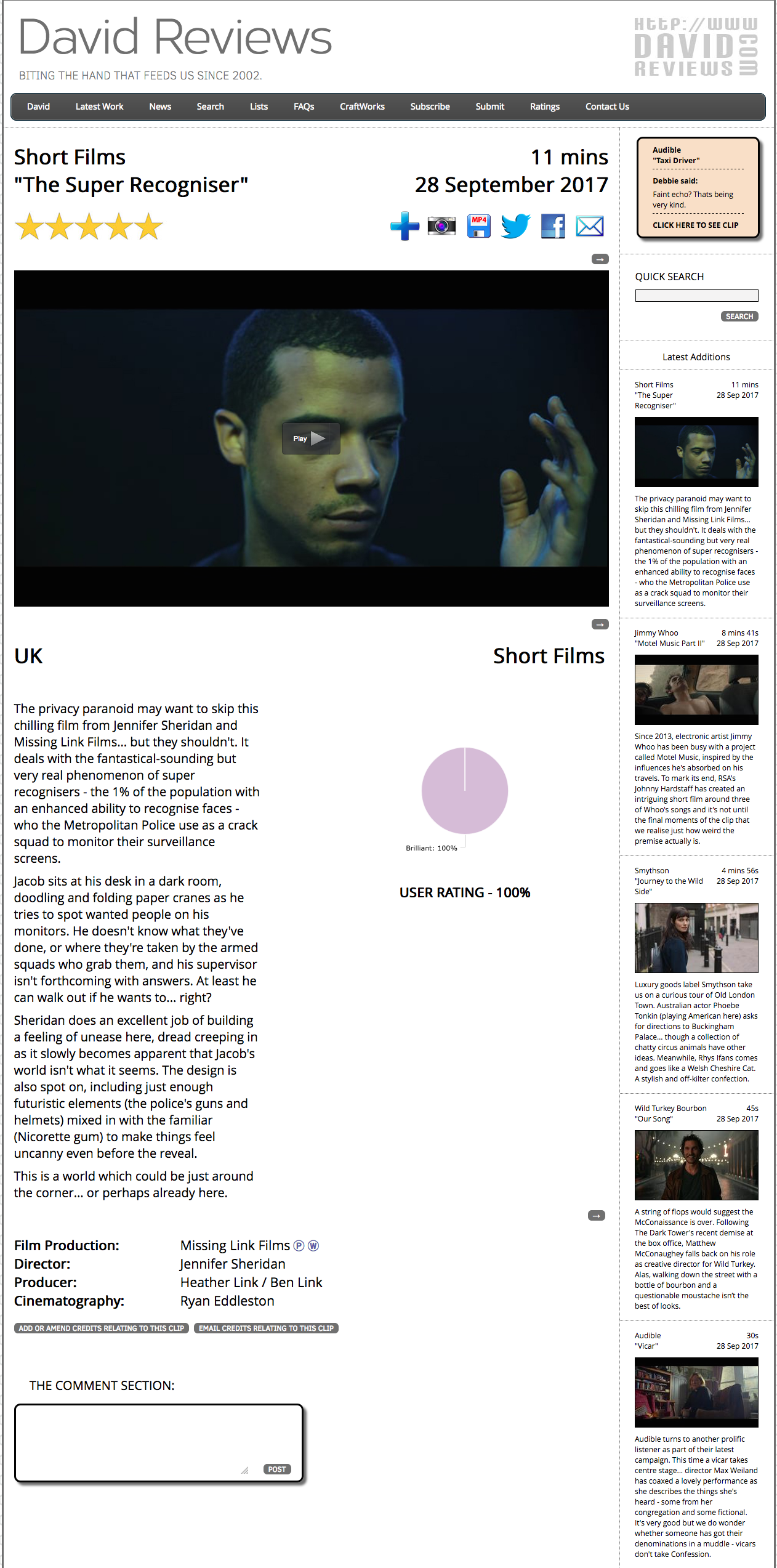 FireShot Capture 2 - Short Films - _The Super Recogniser_ a_ - https___www.davidreviews.com_Clip.asp.png