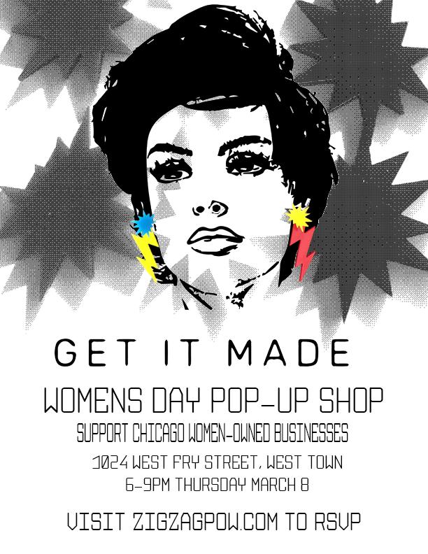 womens day pop up shop