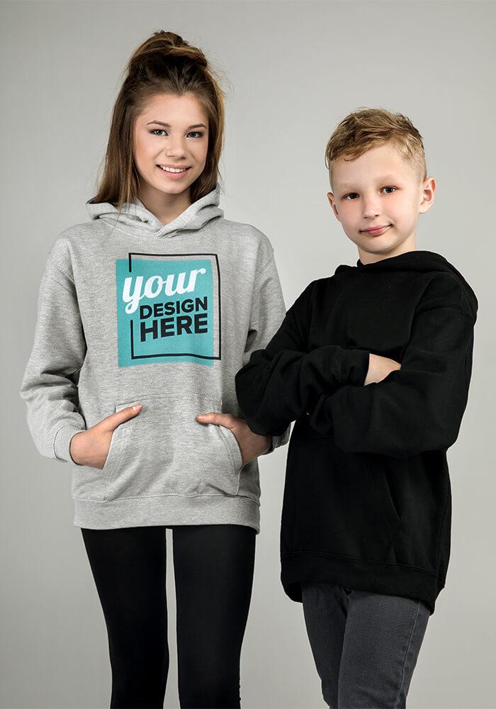 custom kids hoodie