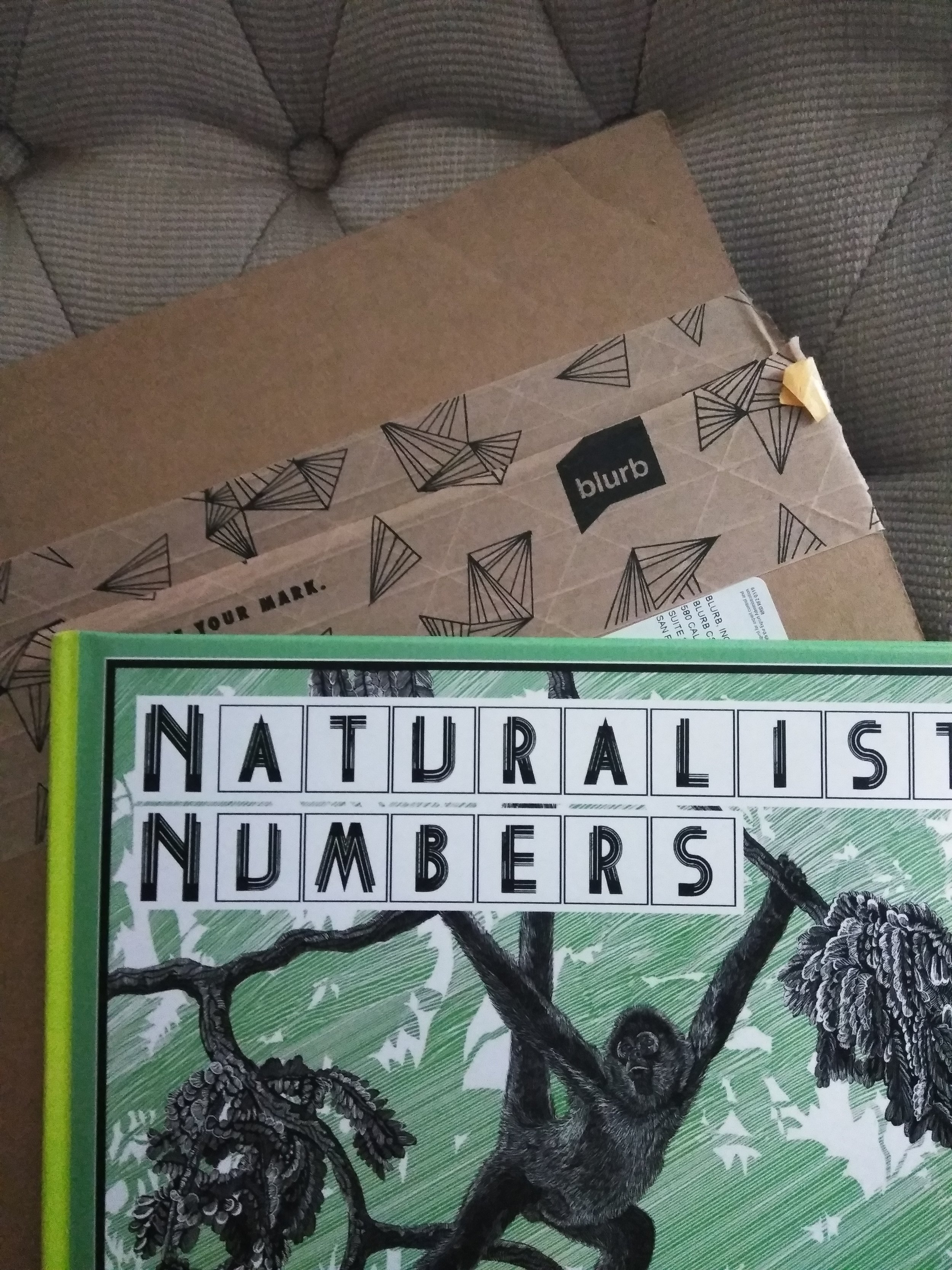 Cover for Naturalist Numbers.
