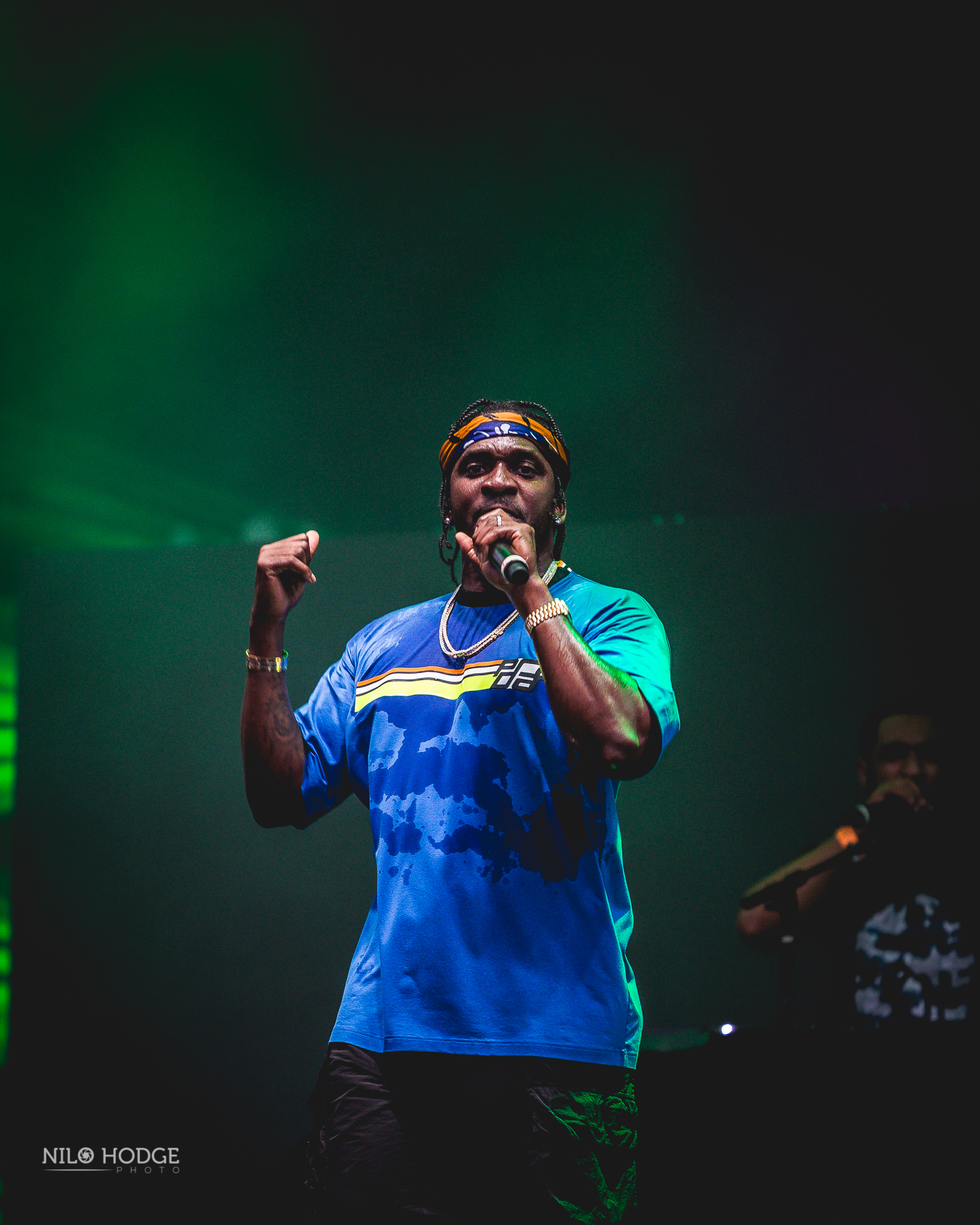 Pusha T at AfroPunk Fest in Brooklyn, NY