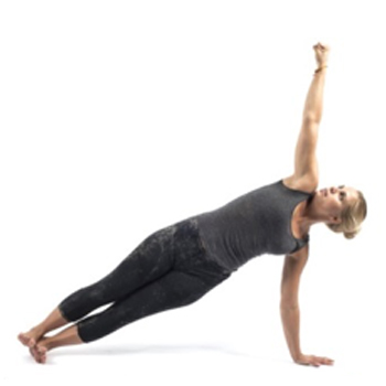 8. Side Plank (Right Hand)