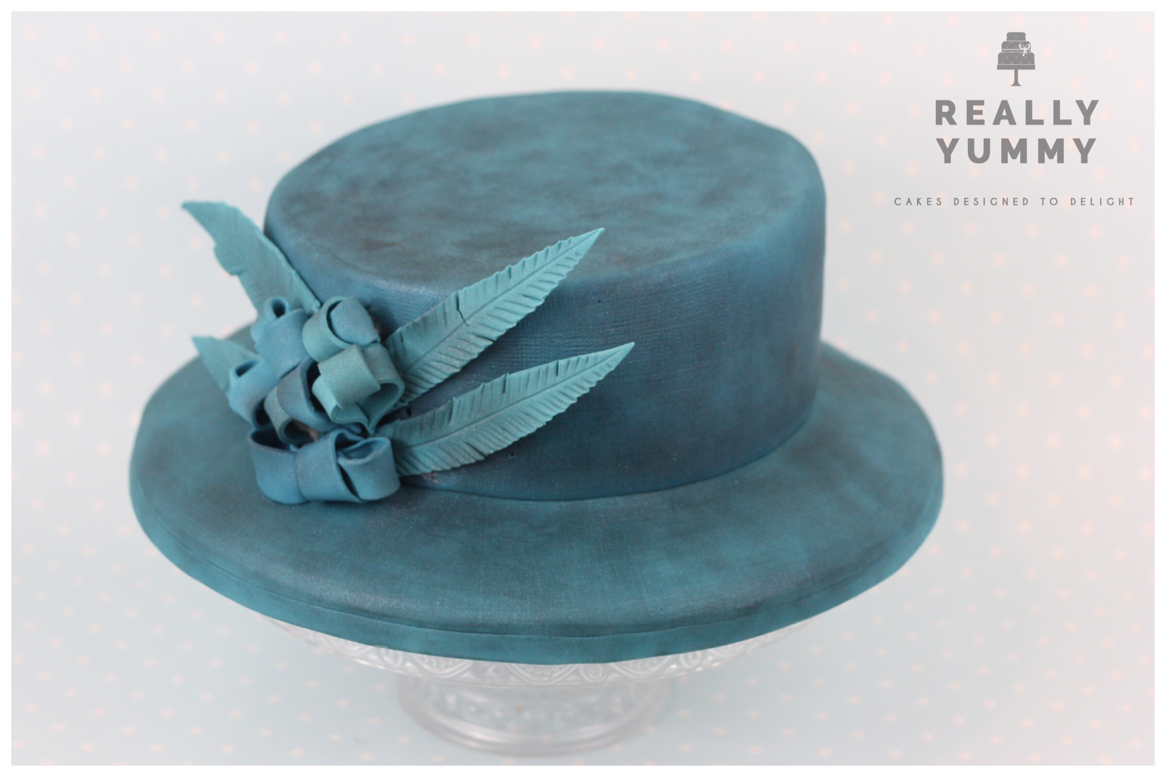 Queen's hat cake