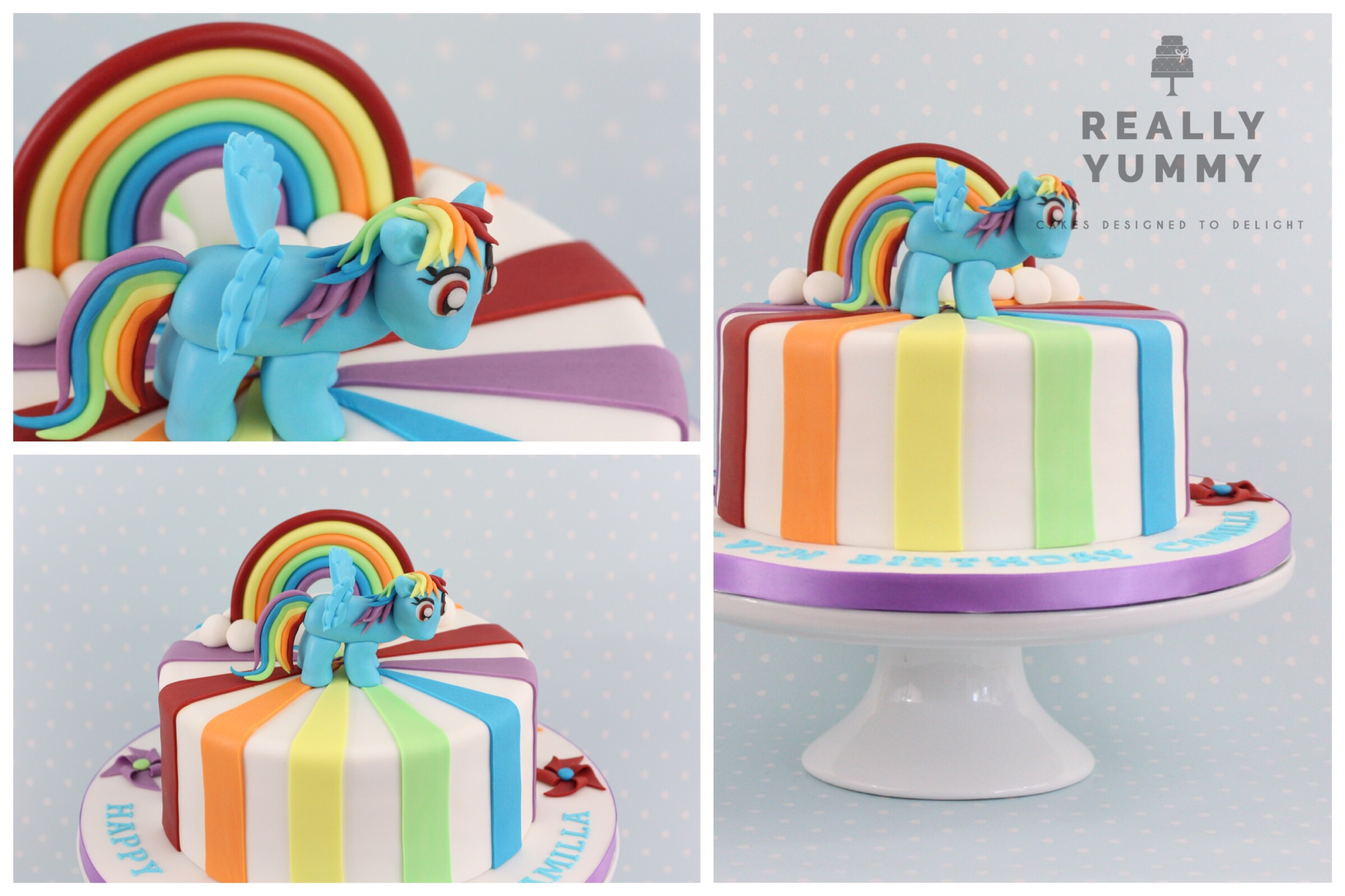 My Little Pony, Rainbow Dash cake