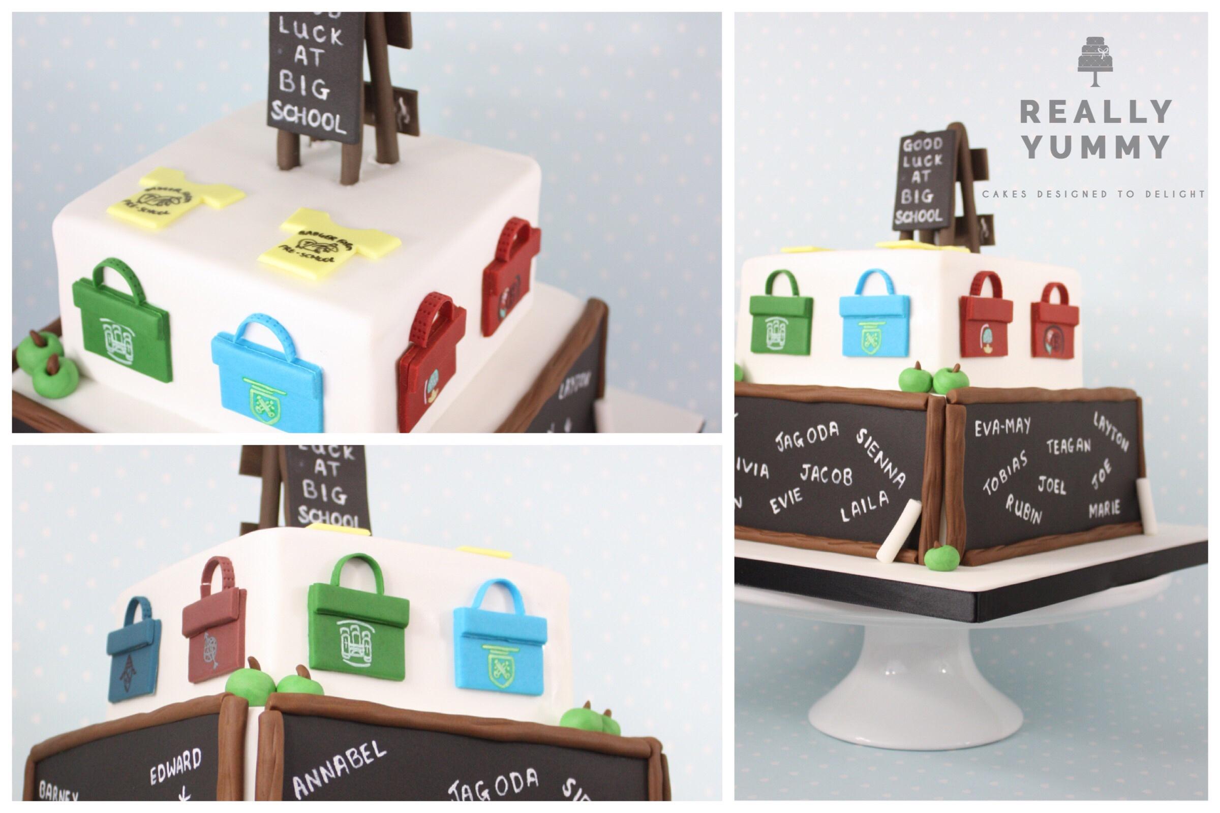 Preschool leavers cake