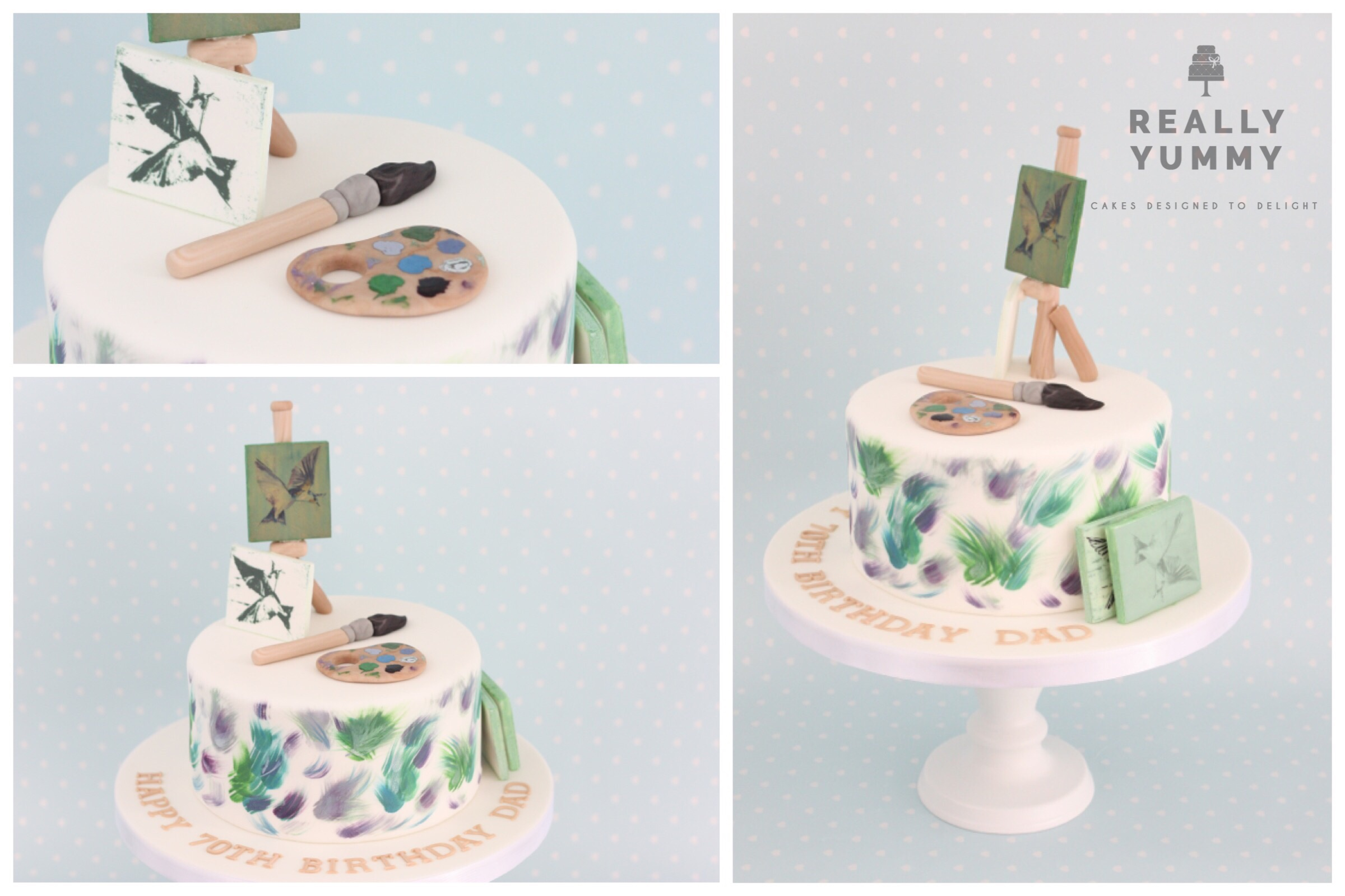 Fine art cake