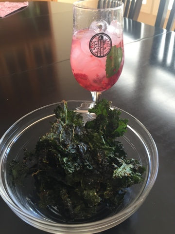 Spiced Kale Chips   Make This Food Blog