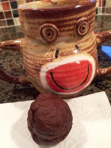 Hot Chocolate Truffle Ball