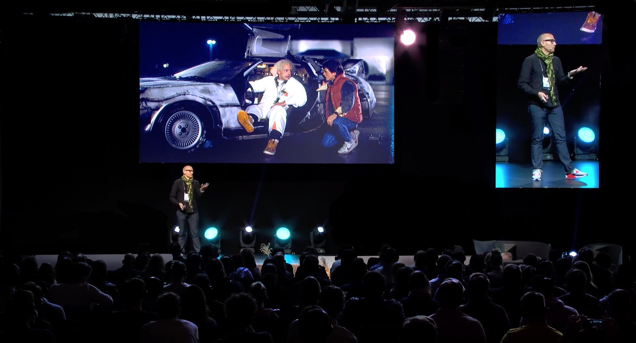 Nick presenting to the Frankfurt Motor Show - MeConvention 2017