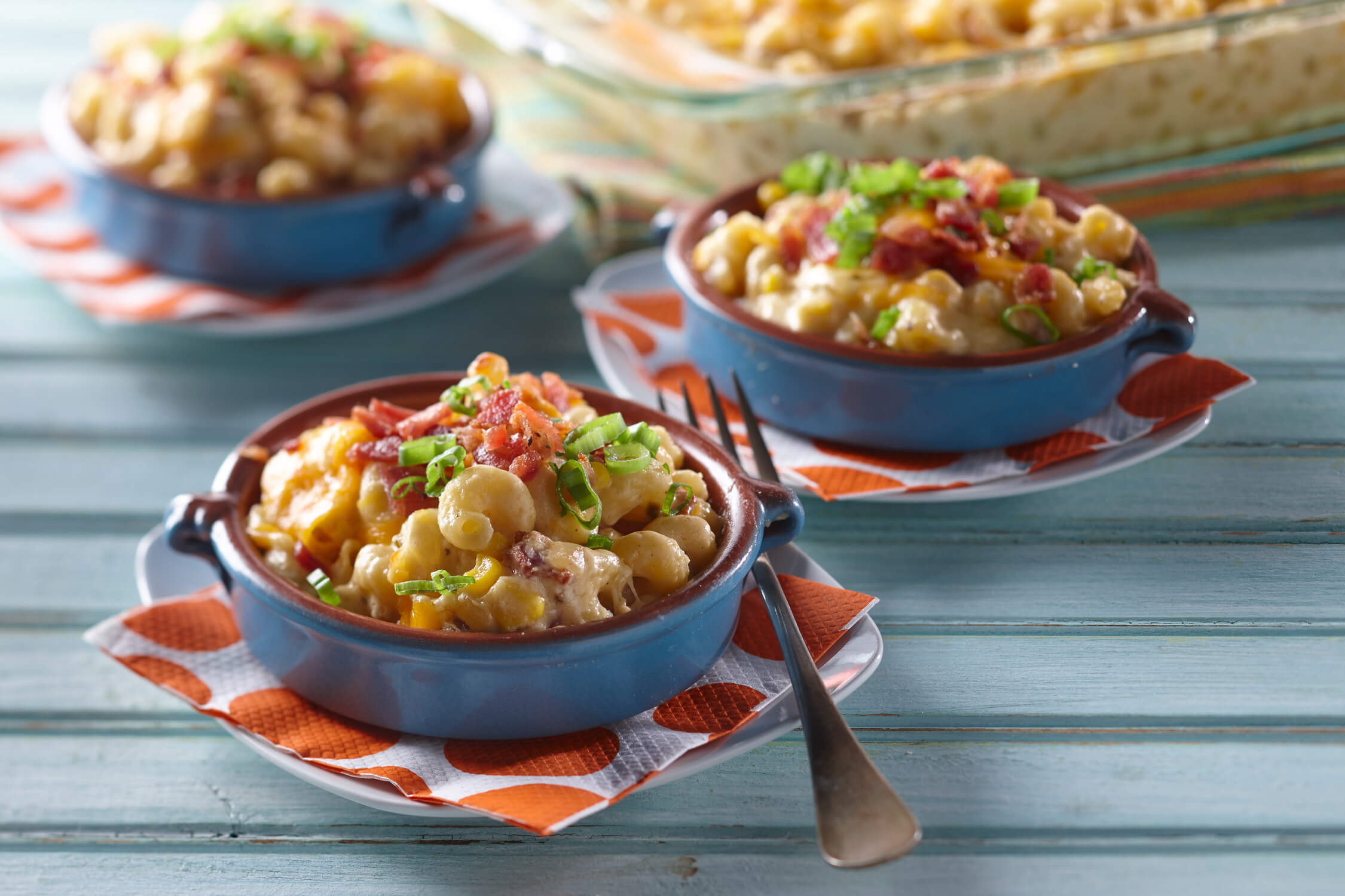 Bacon & Sweet Corn Mac 'n Cheese