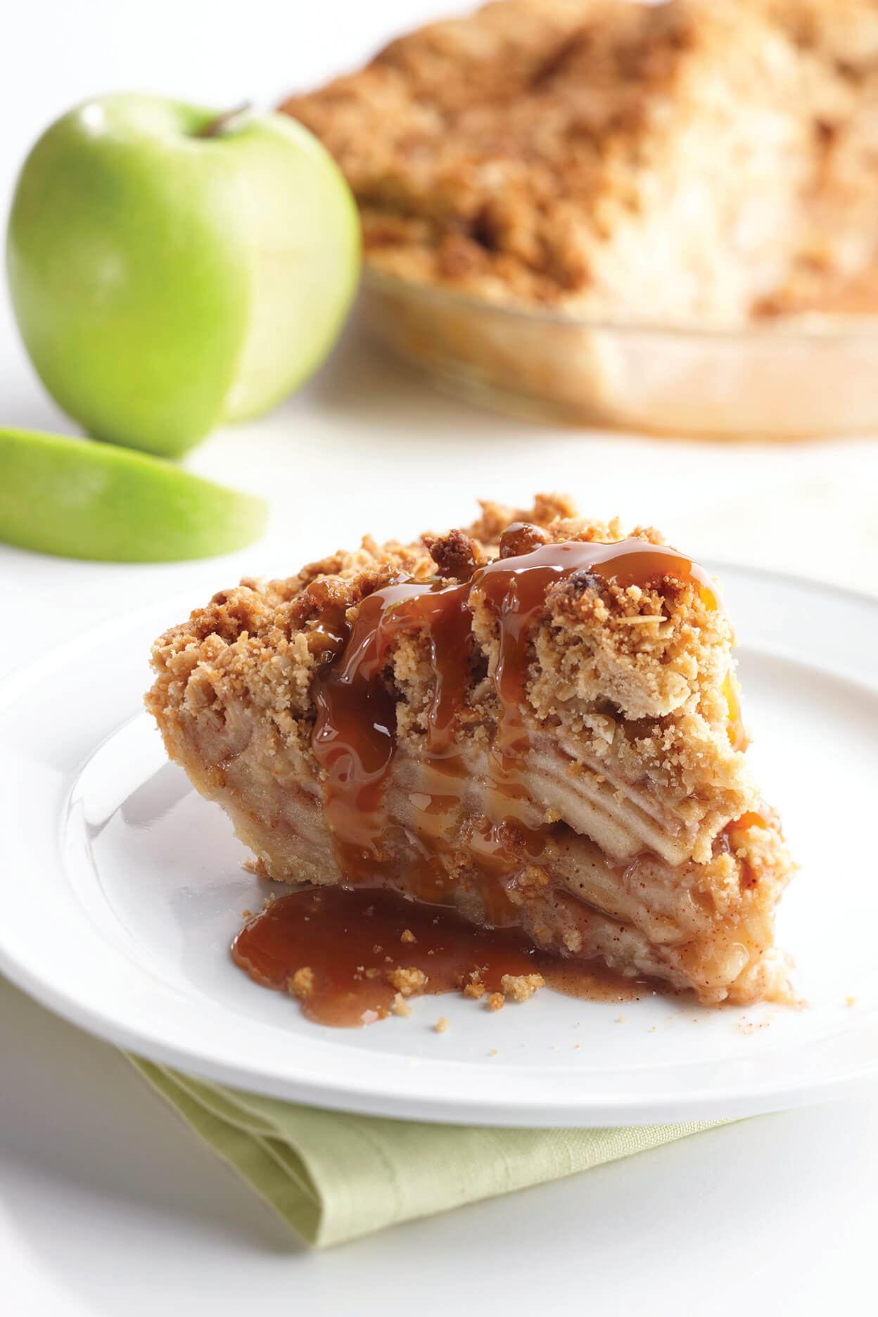 Four-Minute Caramel Apple Pie
