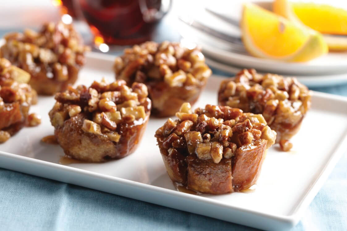 Apple Pecan French Toast Cups